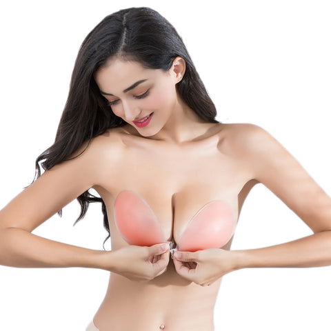 Silicone Strapless Backless Invisible Bra