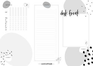 DESK FREAK [A3 desk pad]