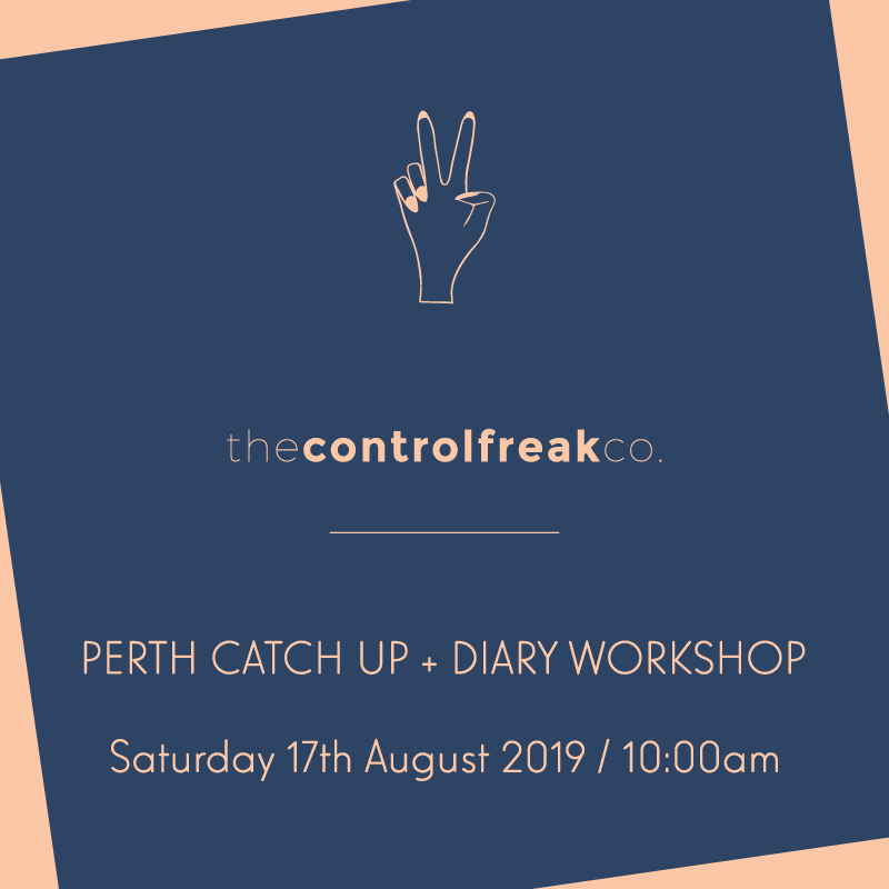 Control Freaks, GATHER! [Perth event] 17 AUGUST 2019