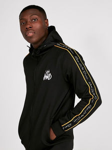 KWD Roxberry Tapered Hooded Tracktop - Black