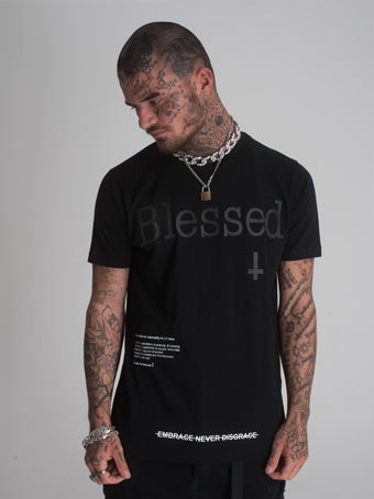 Blessed Logo T-Shirt - Black