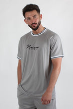 Nuevo Club Mesh Basketball T-Shirt - Grey