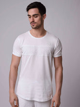 Project X Emboss Panel T-Shirt - White