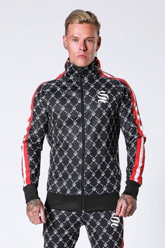 Sinners Attire Monogram Tracktop - Black