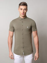 Life & Limb SS Stretch Jersey Shirt - Khaki
