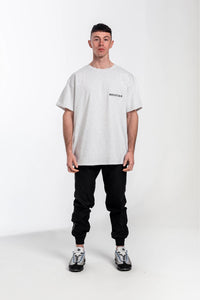Redstar Low Down T-Shirt - Light Grey