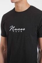 Nuevo Club Panel T-Shirt - Black