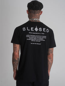 Blessed Cross T-Shirt - Black