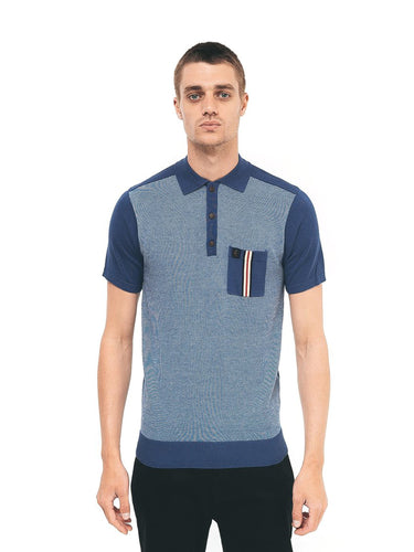 Gabicci Belair Polo Shirt - Blue