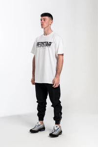 Redstar Front Print T-Shirt - White