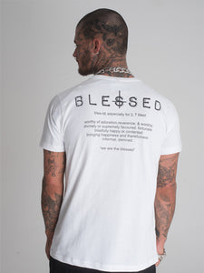 Blessed Lips T-Shirt - White