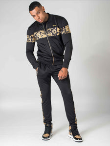 Project X Baroque Zip Jacket - Black