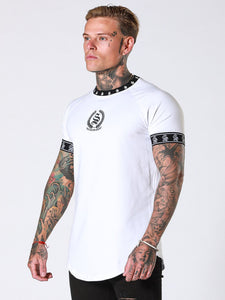 Sinners Attire Crest T-Shirt - White