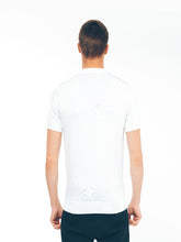 Gabicci 3 Button Knit Polo - White