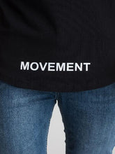 Surreal Movement T-Shirt - Black / White