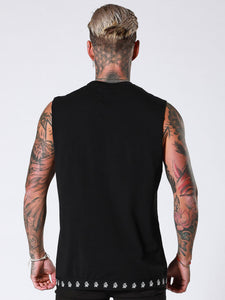 Sinners Attire Sleeveless T-Shirt - Black
