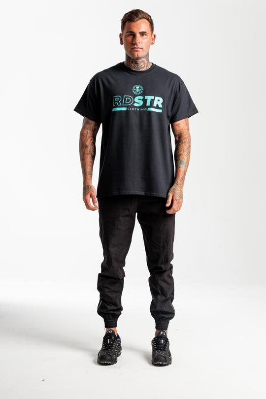 RSC RDSTR T-Shirt - Black / Teal