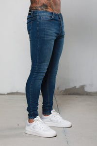 Surreal Skinny Jeans - Blue