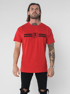 RSC Logo Stripe T-Shirt - Red