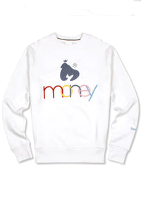 Money United Colours of Money Sweater - White