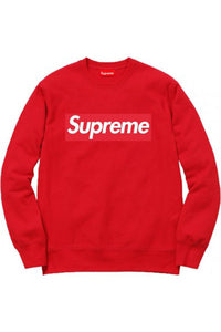 Supreme Giant Box Logo Sweater - Red