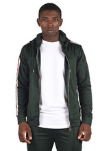 Project X Striped Track Top - Green
