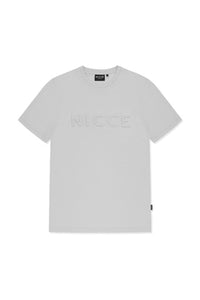 Nicce Emboss T-Shirt - Grey