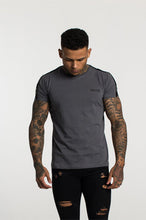 Fresh Couture Tapered T-Shirt - Grey