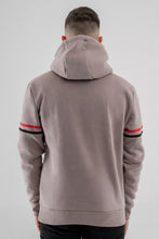 Vox Gente Striped Sleeve Hoody - Grey