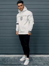 Zanouchi Sleeve Panel Hoody - White