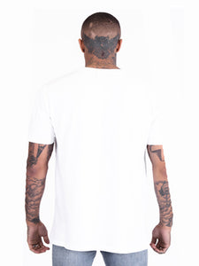 Illusion Oversized T-Shirt - White