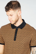 Presidents Club Kell Polo Shirt - Brown
