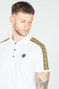 Presidents Club Mase Polo Shirt - White
