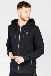 Presidents Club Breaker Hoody - Black