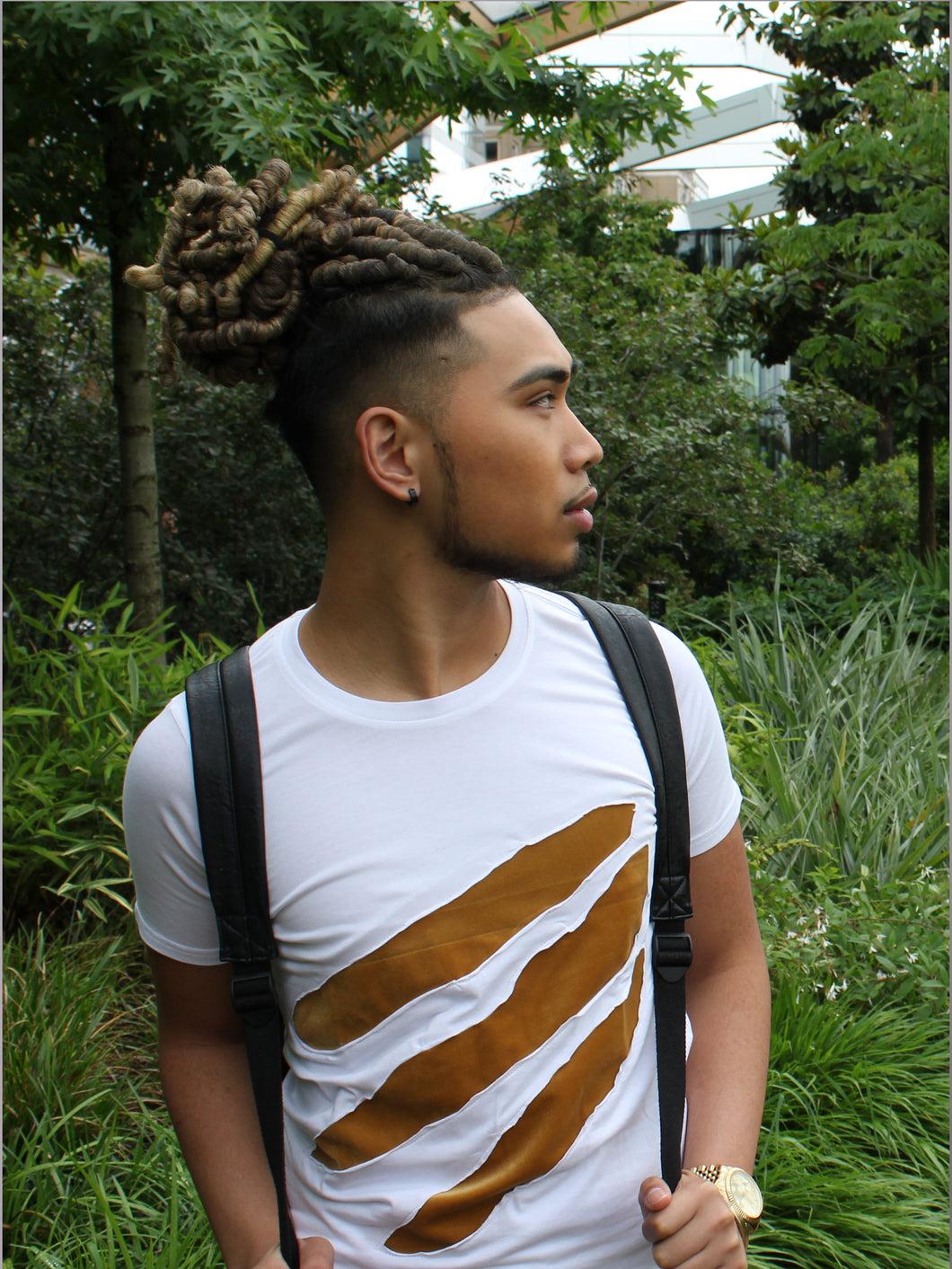 Riari Apparel Lion T-Shirt - White