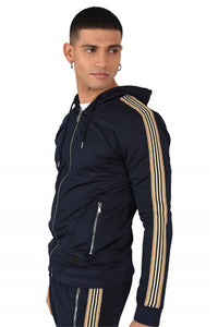 Project X Side Stripe Tracktop - Navy
