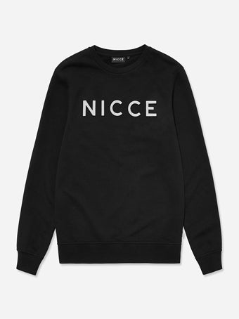 NICCE Hassium Sweater - Black Reflective