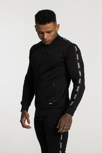 Fresh Couture Poly Tapered Jacket - Black