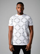 Zanouchi Diamond Print T-Shirt - White