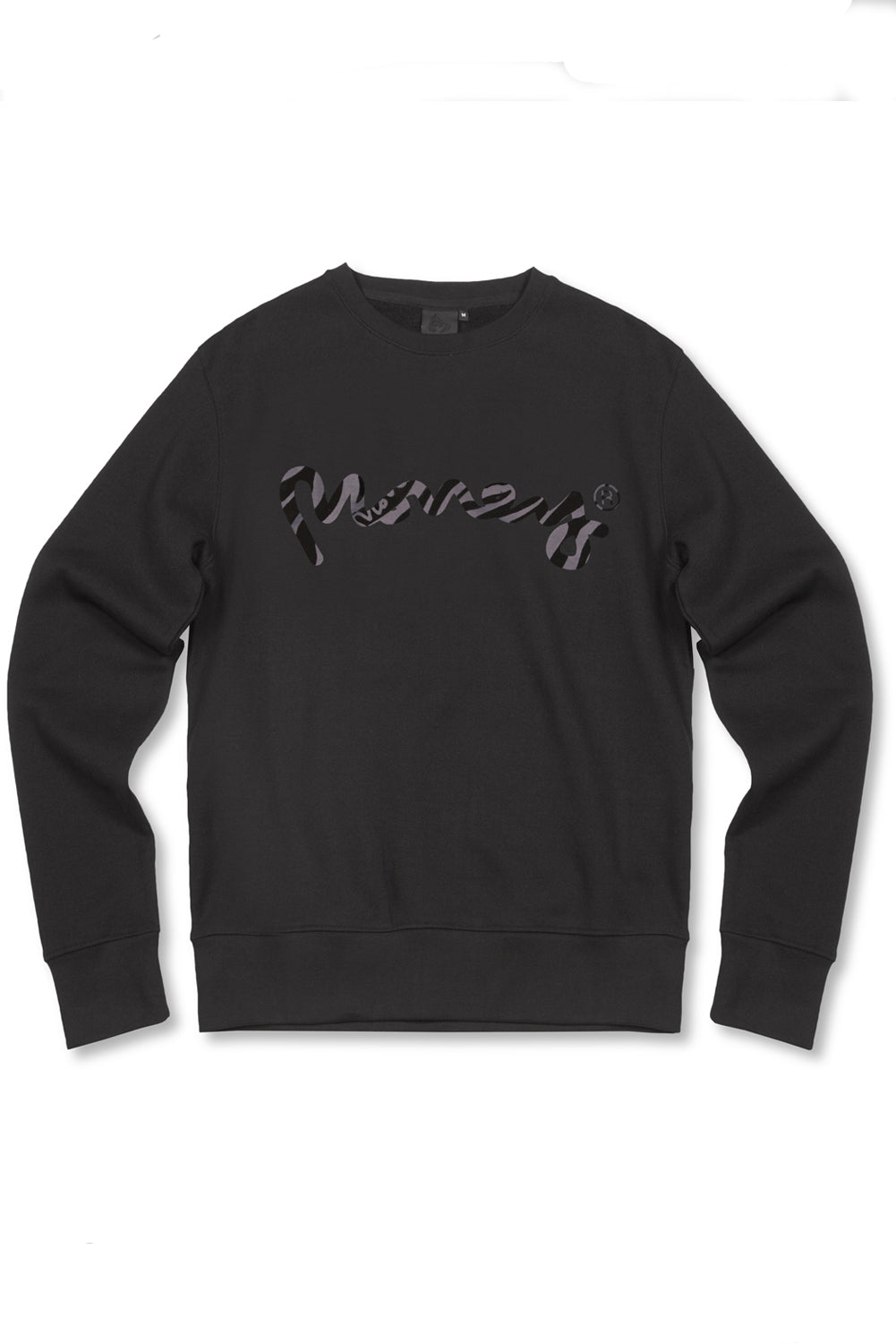 Money Zebra Sig Ape Sweater - Black
