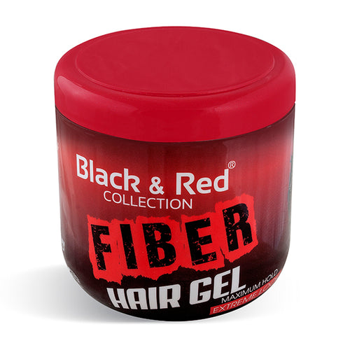 Black & Red Fiber Hair Gel 500ml