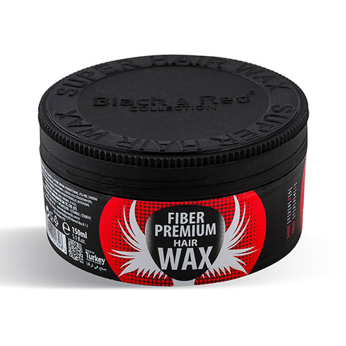 Black & Red Premium Hair Wax Fiber