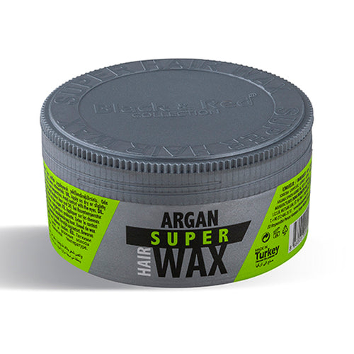 Black & Red Argan Super Hair Wax