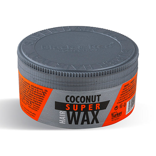 Black & Red Coconut Super Hair Wax