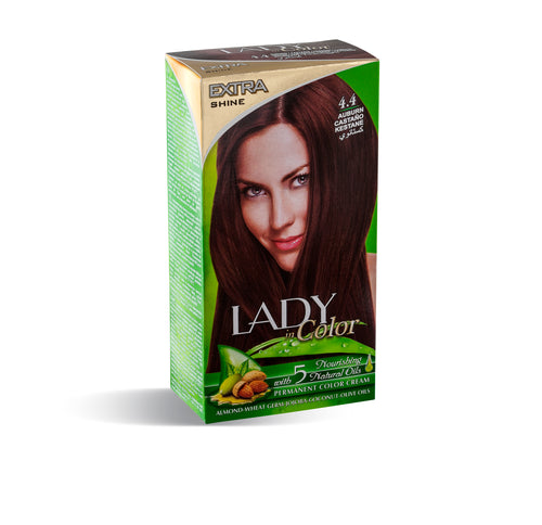 Lady in Color 4.4 Bitkisel Saç Boyası Kestane
