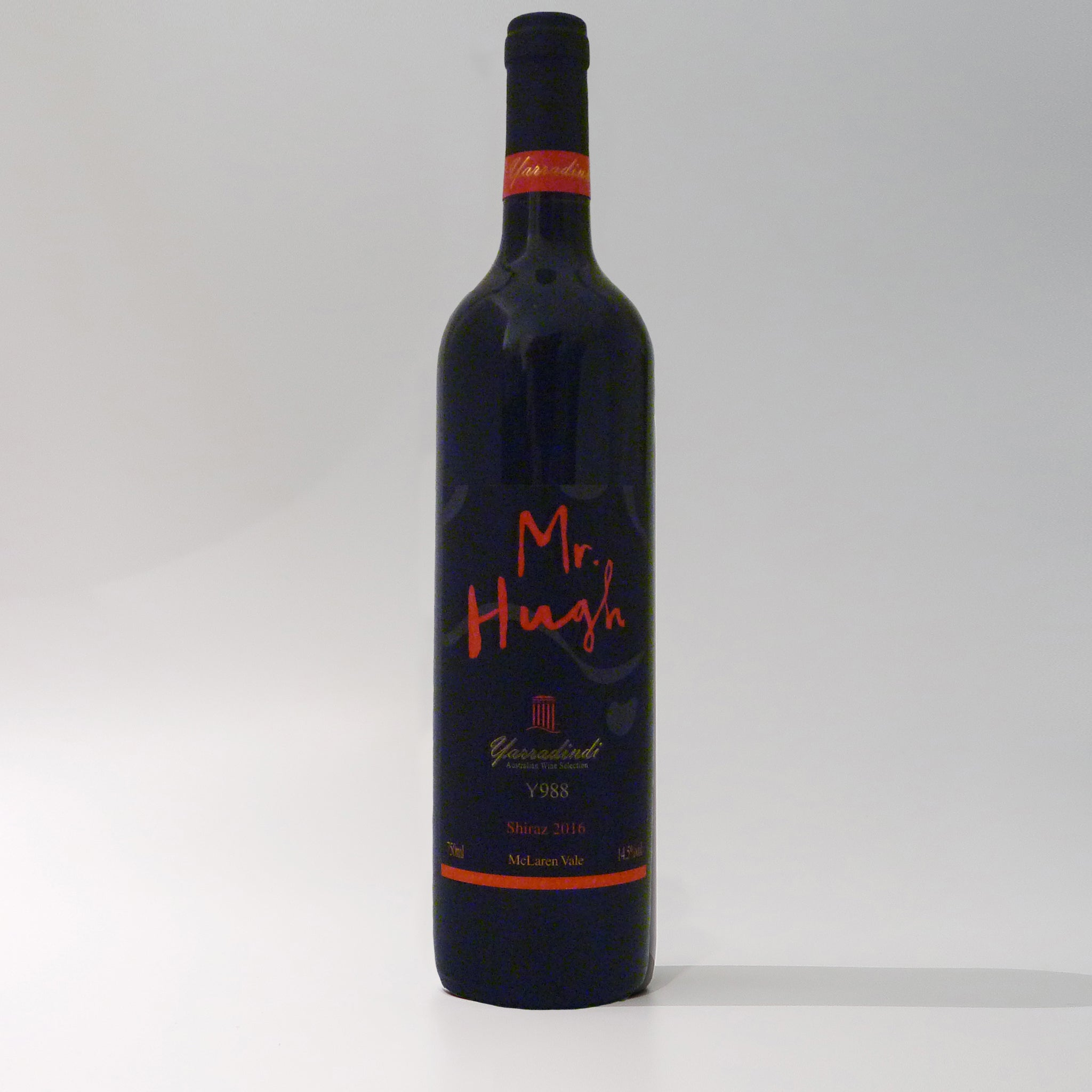 Mr Hugh McLaren Vale Shiraz 2016 China Label (6 bottels)