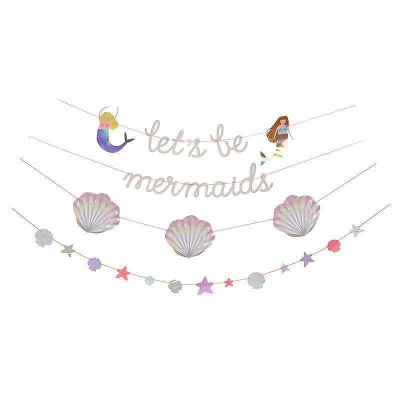 Guirlande Let's be Mermaids - Solsken