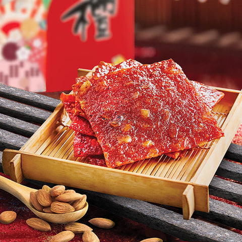 Almond Pork Jerky<br />杏仁猪肉干