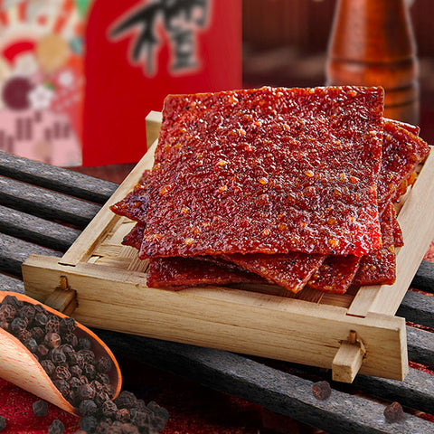 Black Pepper Pork Jerky<br />火腿黑胡椒肉干