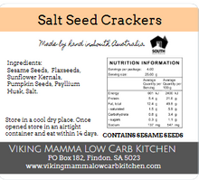 Salted Seed Crackers